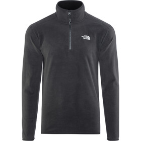 The North Face 100 Glacier Sweat-shirt avec Fermeture éclair 1/4 Homme, tnf black